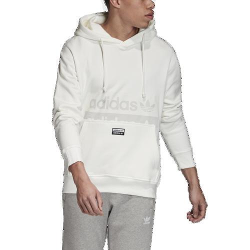 (取寄)アディダス メンズ オリジナルス リビール ユア ボイス D フーディ Men's adidas Originals Reveal Your Voice D Hoodie Core White