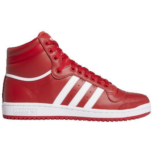 (取寄)アディダス メンズ オリジナルス トップ テン ハイ Men's adidas Originals Top Ten Hi Scarlet White Scarlet
