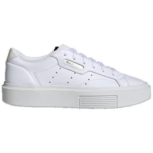 (取寄)アディダス レディース オリジナルス スリーク スーパー Women's adidas Originals Sleek Super White Crystal White Black