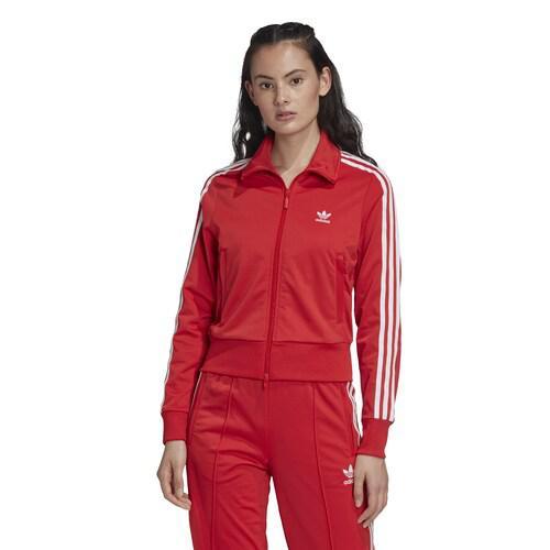 【エントリーでポイント5倍】(取寄)アディダス レディース オリジナルス アディカラー ファイアーバード トラック トップ Women's adidas Originals Adicolor Firebird Track Top Lush Red