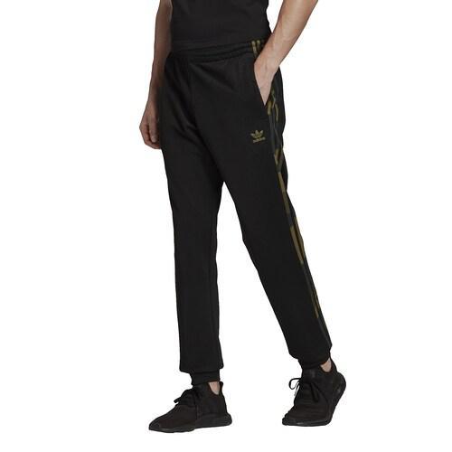 【クーポンで最大2000円OFF】(取寄)アディダス メンズ オリジナルス カモ トラック パンツ Men's adidas Originals Camo Track Pant Black Multi