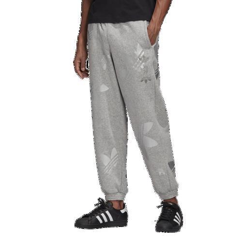 (取寄)アディダス メンズ オリジナルス スペース テック フリース パンツ Men's adidas Originals Space Tech Fleece Pant Solid Grey Silver Metallic