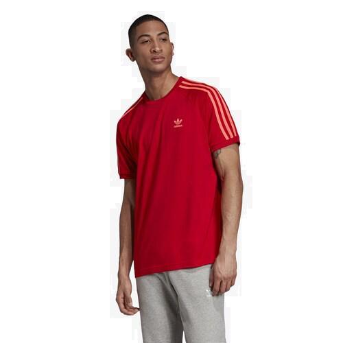 adidas アディダス トップスショート ファッション ブランド 開店記念セール クーポンで最大2000円OFF 取寄 メンズ Originals California 当店限定販売 Tシャツ カリフォルニア Men's Scarlet オリジナルス T-Shirt