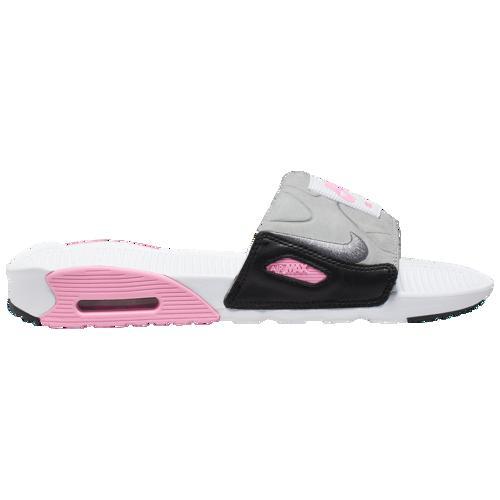 (取寄)ナイキ メンズ エア マックス 90 スライド Nike Men's Air Max 90 Slide White Cool Grey Rose