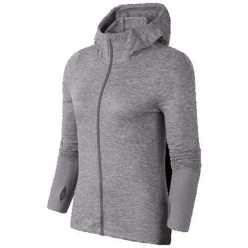 (取寄)ナイキ レディース エレメント フルジップ フーディ Nike Women's Element Full-Zip Hoodie Gunsmoke Atmosphere Grey Heather