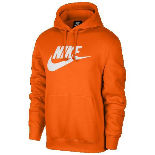 (取寄)ナイキ メンズ GX クラブ フーディ Nike Men's GX Club Hoodie Magma Orange