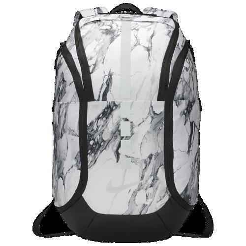 【クーポンで最大2000円OFF】(取寄)ナイキ フープ エリート プロ AOP バックパック Nike Hoops Elite Pro AOP Backpack White Black Silver