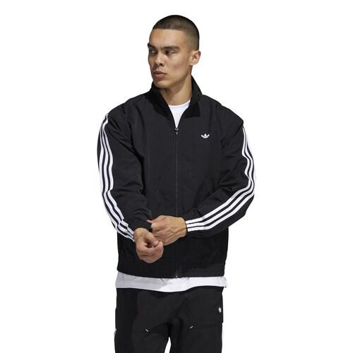 【クーポンで最大2000円OFF】(取寄)アディダス メンズ オリジナルス シャドー トレフォイル ウインドブレーカー Men's adidas Originals Shadow Trefoil Windbreaker Black White