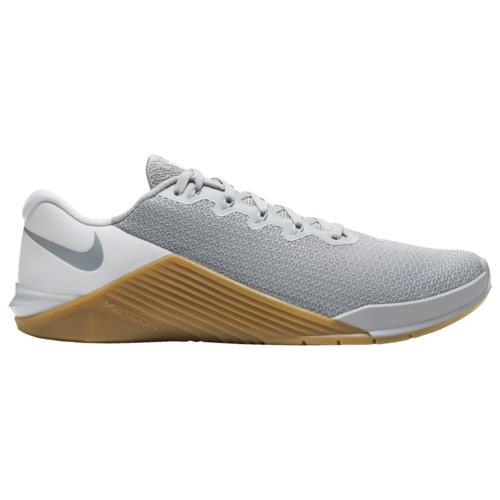 【クーポンで最大2000円OFF】(取寄)ナイキ メンズ メトコン 5 Nike Men's Metcon 5 Wolf Grey Wolf Grey White Gum Medium Brown