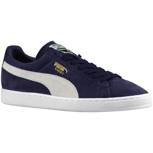 (取寄)プーマ メンズ シューズ プーマ スエード クラシック Men's Shoes PUMA Suede Classic Peacoat White