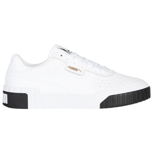 (取寄)プーマ レディース シューズ プーマ カリ Women's Shoes PUMA Cali White Black