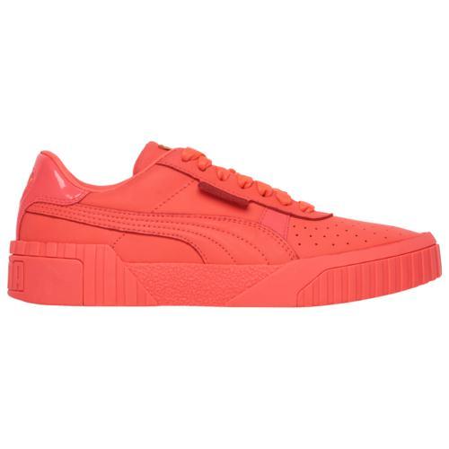 (取寄)プーマ レディース シューズ プーマ カリ Women's Shoes PUMA Cali Pink Alert Team Gold