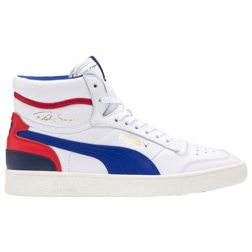 (取寄)プーマ メンズ シューズ プーマ ラルフ サンプソン ミッド Men's Shoes PUMA Ralph Sampson Mid White Blue Red