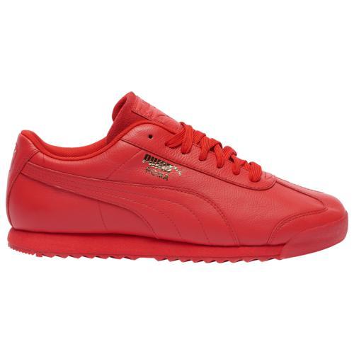 (取寄)プーマ メンズ シューズ プーマ ローマ ベーシック Men's Shoes PUMA Roma Basic Hi Risk Red Team Gold
