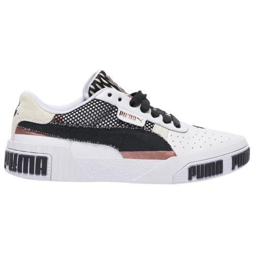 (取寄)プーマ レディース シューズ プーマ カリ ボールド Women's Shoes PUMA Cali Bold White Black