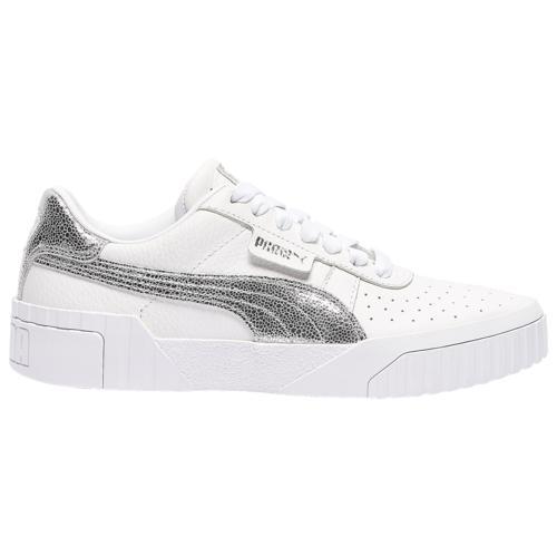 (取寄)プーマ レディース シューズ プーマ カリ Women's Shoes PUMA Cali Silver Metallic Foil