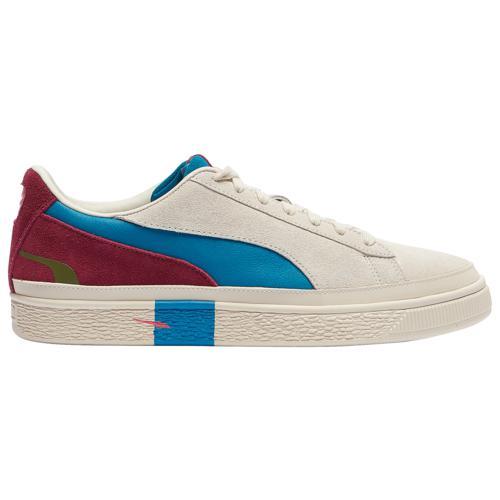 (取寄)プーマ メンズ シューズ プーマ スエード クラシック ハックト Men's Shoes PUMA Suede Classic Hacked Birch Cabernet Ocean