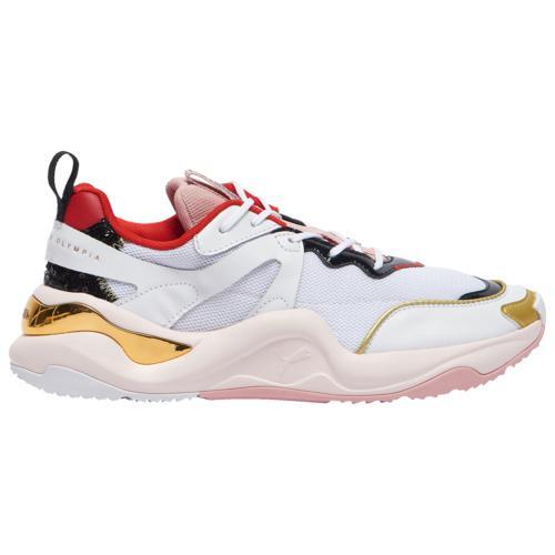 (取寄)プーマ レディース シューズ プーマ ライズ Women's Shoes PUMA Rise White Pink