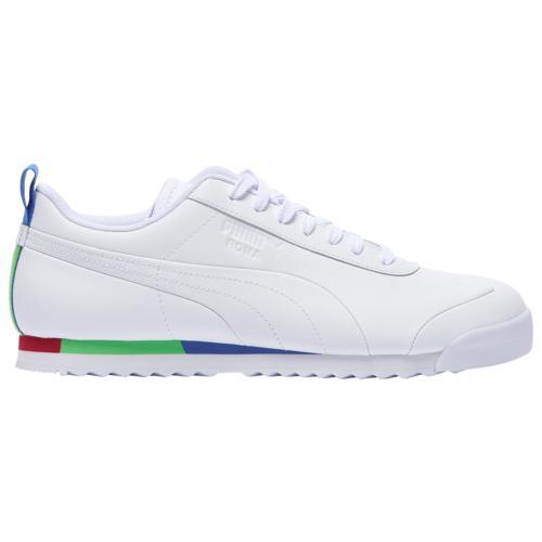 (取寄)プーマ メンズ シューズ プーマ ローマ ベーシック Men's Shoes PUMA Roma Basic White Red Blue