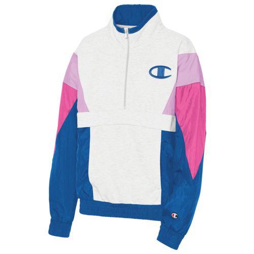 (取寄)チャンピオン レディース ミックス メディア プルオーバー ジャケット Champion Women's Mixed Media Pullover Jacket Velvet Evening