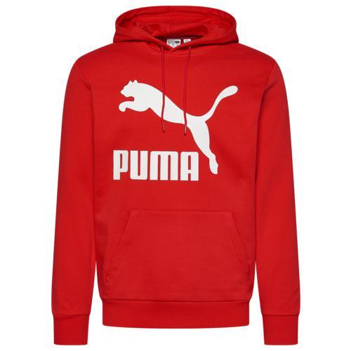 (取寄)プーマ メンズ プーマ クラシック ロゴ フーディ Men's PUMA Classics Logo Hoodie High Risk Red