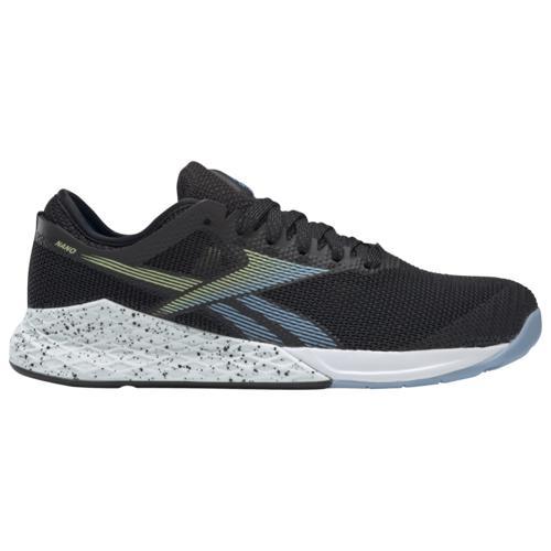 (取寄)リーボック レディース シューズ クロスフィット ナノ 9.0 Reebok Women's Shoes Crossfit Nano 9.0 Black Fluid Blue Lemon Glow