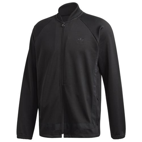 (取寄)アディダス メンズ オリジナルス ウォーム アップ トラック ジャケット Men's adidas Originals Warm Up Track Jacket Black Gold