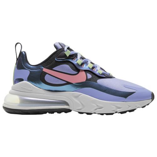 (取寄)ナイキ レディース シューズ エア マックス 270 リアクト Nike Women's Shoes Air Max 270 React Dark Smoke Grey Sunblush Light Thistle