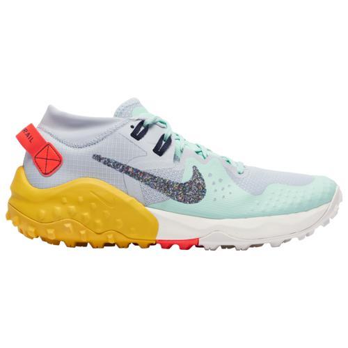 (取寄)ナイキ メンズ シューズ ワイルドホース 6 Nike Men's Shoes Wildhorse 6 Aura Blackened Blue Mint Foam Speed Yellow