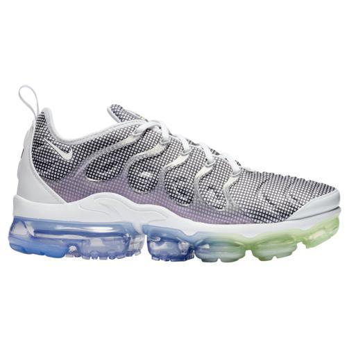 (取寄)ナイキ メンズ シューズ エア ヴェイパーマックス プラス Nike Men's Shoes Air Vapormax Plus White Black Aluminum Barely Volt