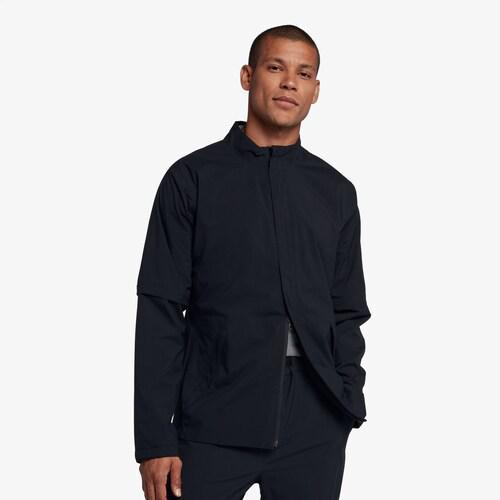 (取寄)ナイキ メンズ ハイパーシールド コア ゴルフ レイン ジャケット Nike Men's Hypershield Core Golf Rain Jacket Black Black