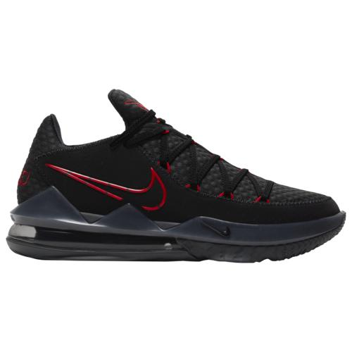 (取寄)ナイキ メンズ シューズ レブロン 17 ロー Nike Men's Shoes LeBron 17 Low Black University Red Dark Grey