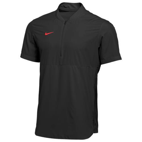 (取寄)ナイキ メンズ チーム オーセンティック シールド ライトウェイト ジャケット Nike Men's Team Authentic Shield Lightweight Jacket Black University Red N A