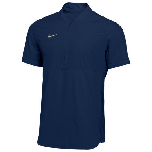 (取寄)ナイキ メンズ チーム オーセンティック シールド ライトウェイト ジャケット Nike Men's Team Authentic Shield Lightweight Jacket College Navy Team Gold N A