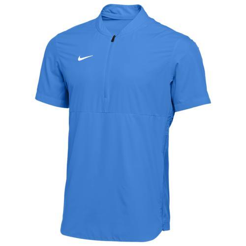 (取寄)ナイキ メンズ チーム オーセンティック シールド ライトウェイト ジャケット Nike Men's Team Authentic Shield Lightweight Jacket Valor Blue White N A