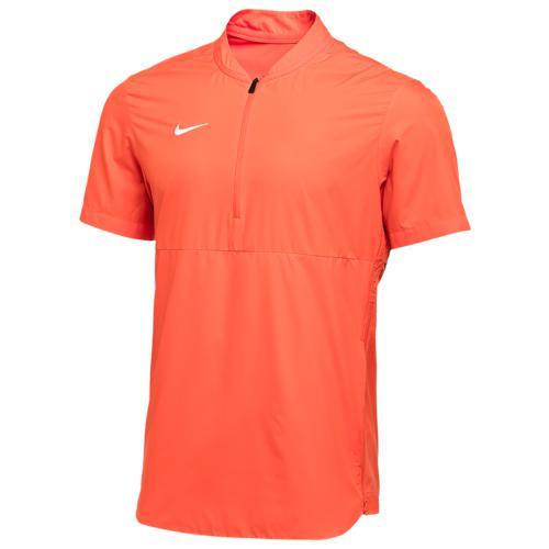 (取寄)ナイキ メンズ チーム オーセンティック シールド ライトウェイト ジャケット Nike Men's Team Authentic Shield Lightweight Jacket Team Orange White N A