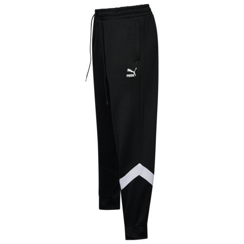 【クーポンで最大2000円OFF】(取寄)プーマ メンズ プーマ アイコニック MCS トラック パンツ Men's PUMA Iconic MCS Track Pants Puma Black