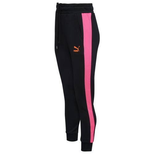 (取寄)プーマ レディース プーマ クラシック T7 トラック パンツ Women's PUMA Classic T7 Track Pants Puma Black