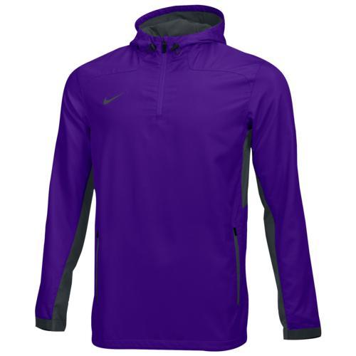 【クーポンで最大2000円OFF】(取寄)ナイキ メンズ チーム ウーブン 1/4 ジップ ジャケット Nike Men's Team Woven 1/4 Zip Jacket Team Court Purple Team Anthracite Team Anthracite