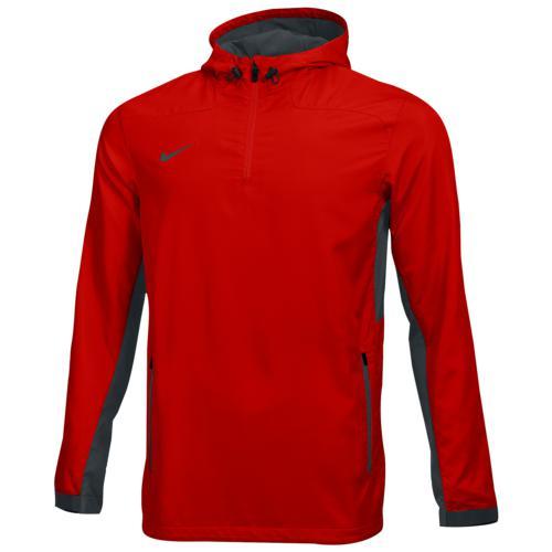 (取寄)ナイキ メンズ チーム ウーブン 1/4 ジップ ジャケット Nike Men's Team Woven 1/4 Zip Jacket Team University Red Team Anthracite