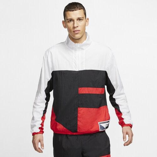 (取寄)ナイキ メンズ フライト ジャケット Nike Men's Flight Jacket Black White University Red