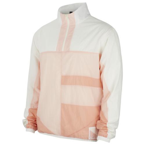 【クーポンで最大2000円OFF】(取寄)ナイキ メンズ フライト ジャケット Nike Men's Flight Jacket Washed Coral Sail Pink Quartz