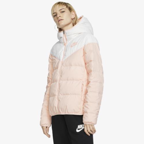 (取寄)ナイキ レディース ダウン フィル リバーシブル ジャケット Nike Women's Down Fill Reversible Jacket White Echo Pink Echo Pink