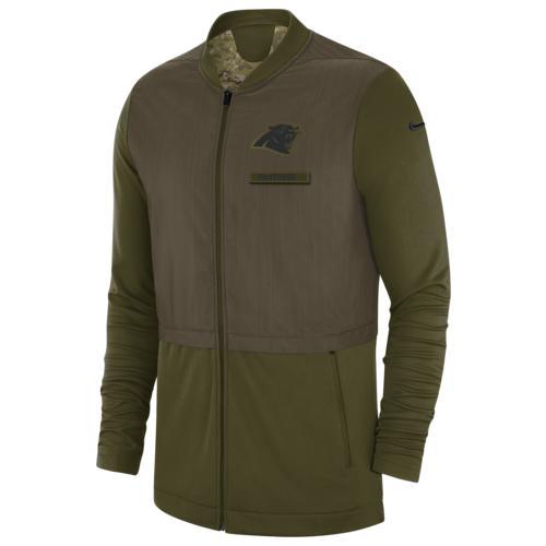 (取寄)ナイキ メンズ NFL サルート トゥ サービス ハイブリッド ジャケット カロライナ パンサーズ Nike Men's NFL Salute To Service Hybrid Jacket カロライナ パンサーズ Olive
