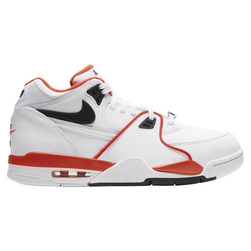 【クーポンで最大2000円OFF】(取寄)ナイキ メンズ シューズ フライト 89 Nike Men's Shoes Flight 89 White Black Team Orange