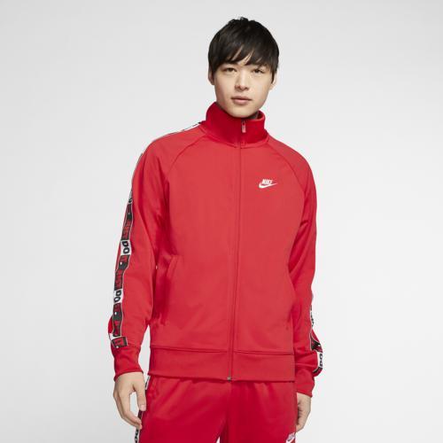 【クーポンで最大2000円OFF】(取寄)ナイキ メンズ JDI テープ ジャケット Nike Men's JDI Tape Jacket University Red