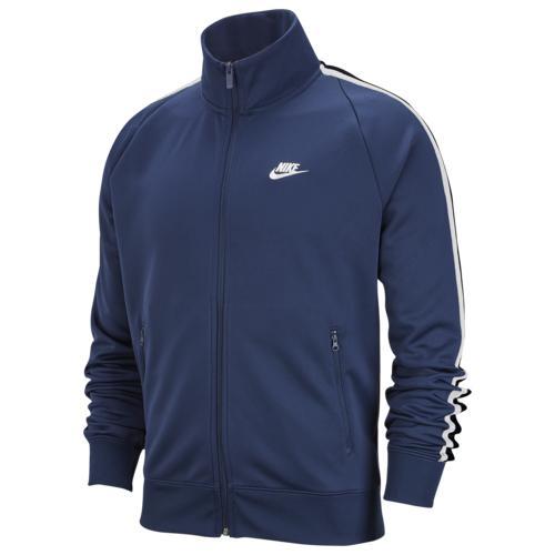 【クーポンで最大2000円OFF】(取寄)ナイキ メンズ N98 トリビュート ジャケット Nike Men's N98 Tribute Jacket Midnight Navy White