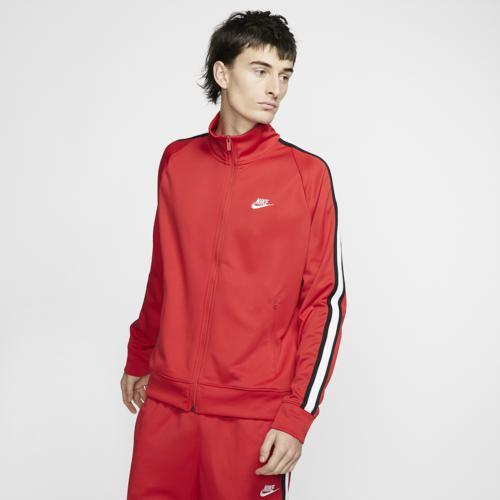 (取寄)ナイキ メンズ N98 トリビュート ジャケット Nike Men's N98 Tribute Jacket University Red White