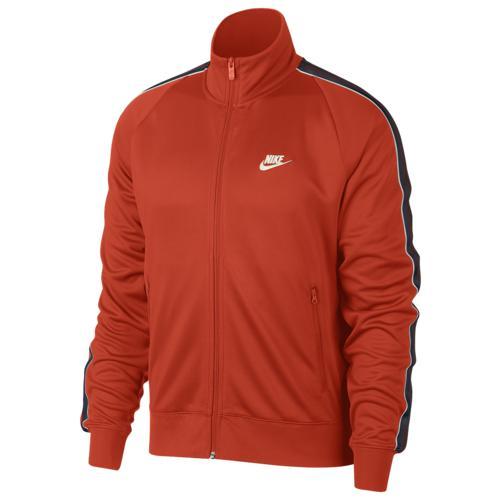 【クーポンで最大2000円OFF】(取寄)ナイキ メンズ N98 トリビュート ジャケット Nike Men's N98 Tribute Jacket Team Orange Sail