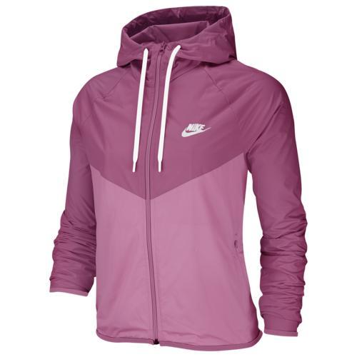 (取寄)ナイキ レディース ウインドランナー ジャケット Nike Women's Windrunner Jacket Cosmic Fuschsia Magic Flamingo White